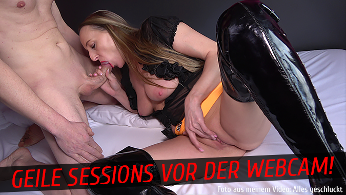 Geile Sessions vor der Webcam!